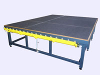Cutting and breaking glass table, ТехноWIN TM